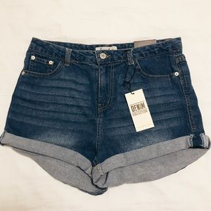 NWT Love Tree Denim Shorts